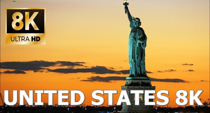 Best of United States of America 8K Ultra HD / 8K TV Drone Video