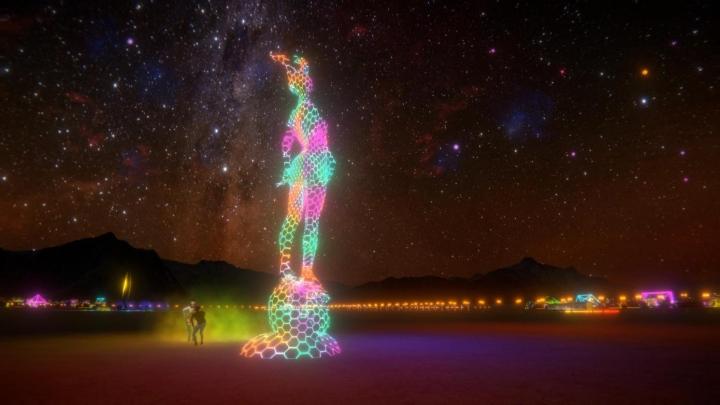 Digitizing Burning Man