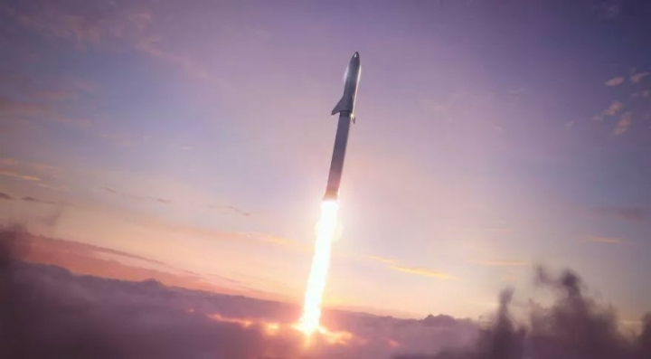 Elon Musk Says SpaceX's 1st Starship Trip to Mars Could Fly in 4 Years
