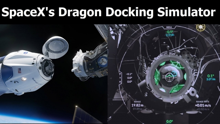 You can dock a SpaceX Crew Dragon at the space station in this free simulator