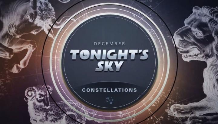 Tonights Sky: December