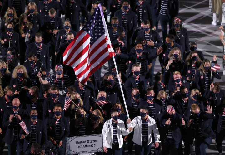Team USA atop the medal table in Tokyo Olympic Games